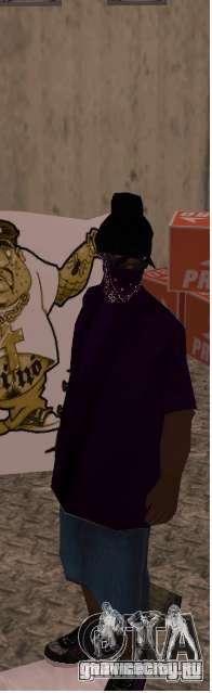 West coast ballas для GTA San Andreas третий скриншот