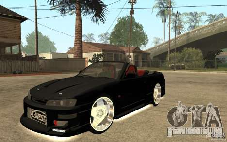 Nissan S14 HellaFlush для GTA San Andreas