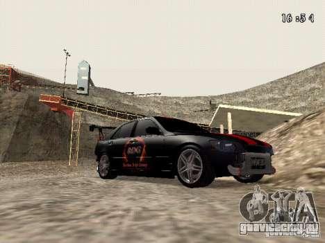 Toyota Altezza NKS Drift для GTA San Andreas вид сзади