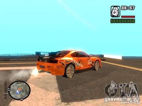 NISSAN Silvia S15 RFteam drifters для GTA San Andreas вид слева
