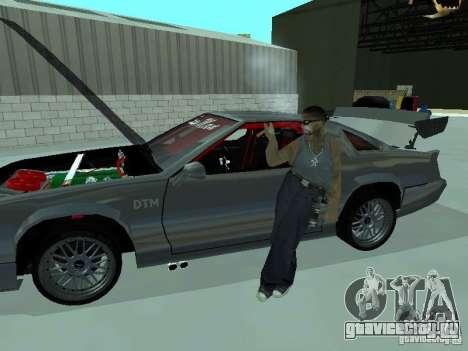Buffalo Racer 2008 для GTA San Andreas вид сзади слева
