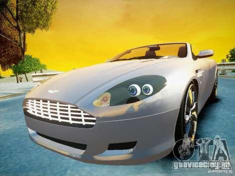Aston Martin DB9 Volante v2.0 для GTA 4 вид справа