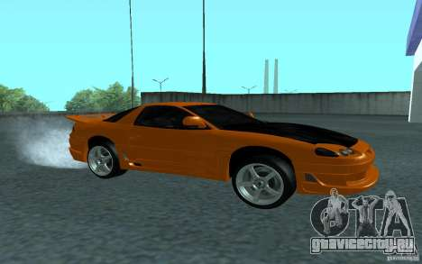 Mitsubishi 3000GT для GTA San Andreas вид сзади