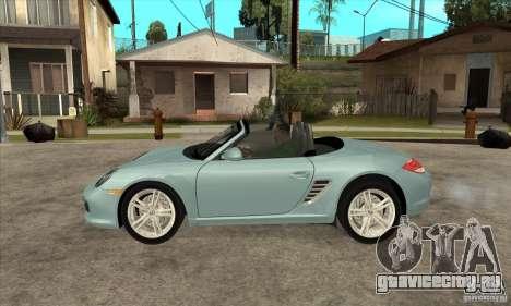 Porsche Boxster S 2010 для GTA San Andreas вид слева