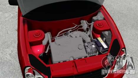 ВАЗ-2172 Приора Люкс для GTA 4 вид изнутри