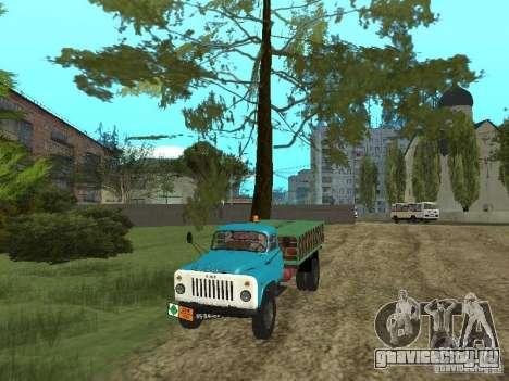 ГАЗ-53 баллоновоз для GTA San Andreas вид сзади