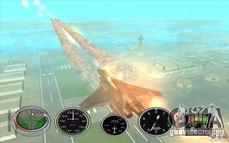 Ракеты быстрого запуска для Hydra и Hunter для GTA San Andreas четвёртый скриншот