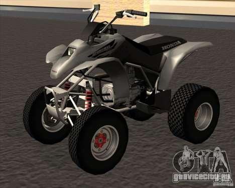 Honda Sportrax 250EX для GTA San Andreas