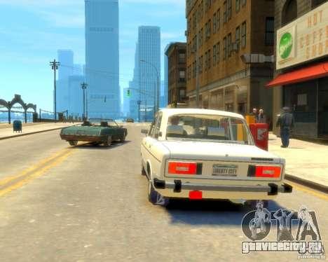ВАЗ-2106 для GTA 4 вид слева