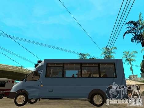 ГАЗель Рута для GTA San Andreas вид слева
