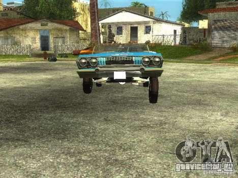 Chevrolet Impala 1964 (Lowrider) для GTA San Andreas вид справа