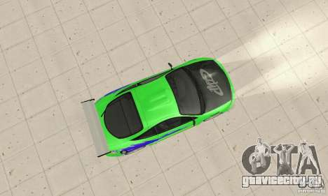 Mitsubishi Eclipse FnF для GTA San Andreas вид справа