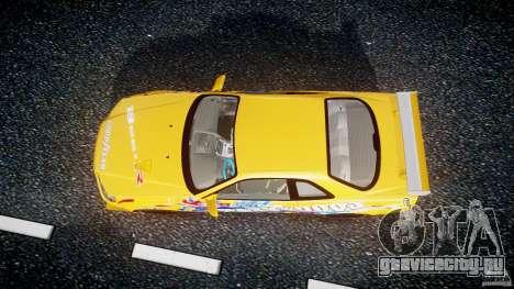 Nissan Skyline R34 GT-R Tezuka Goodyear D1 Drift для GTA 4 вид справа