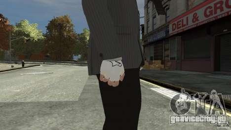 Gloves AlpineStar White для GTA 4 второй скриншот