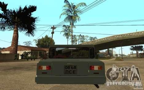 СЗД Инвалидка для GTA San Andreas вид сзади слева