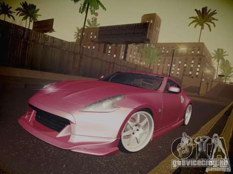 Nissan 370Z Fatlace для GTA San Andreas колёса