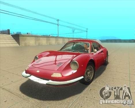 Ferrari Dino 246 GT для GTA San Andreas