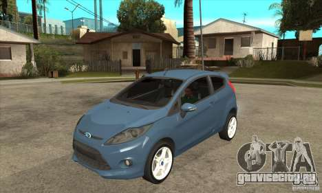 Ford Fiesta Zetec S 2009 для GTA San Andreas