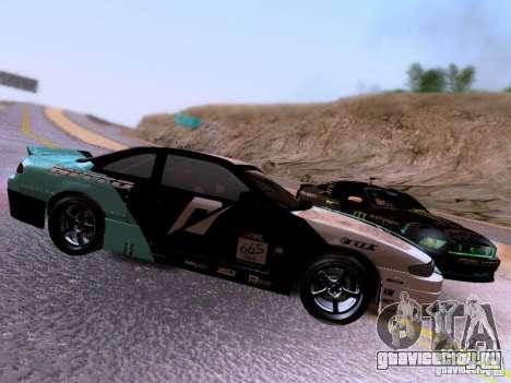 Nissan Silvia S14 Matt Powers v4 2012 для GTA San Andreas вид изнутри