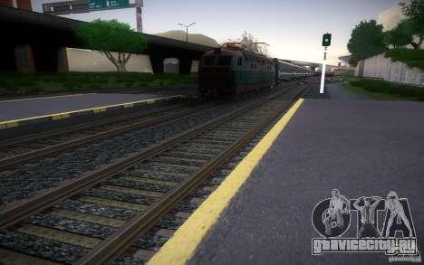 HD Рельсы v2.0 Final для GTA San Andreas четвёртый скриншот