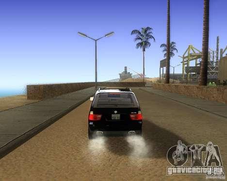 BMW X5 4.8 IS для GTA San Andreas вид справа