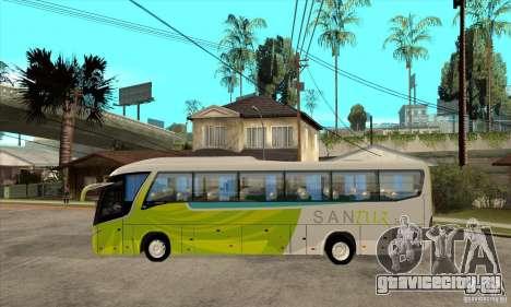 Marcopolo Viaggio G7 1050 Santur для GTA San Andreas вид слева