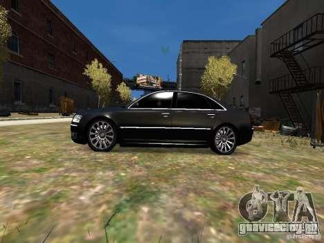 Audi A8L W12 для GTA 4 вид слева