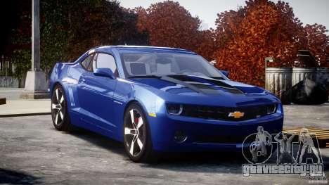 Chevrolet Camaro v1.0 для GTA 4 вид сзади