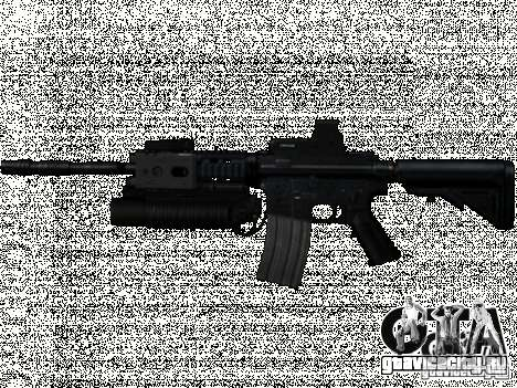 Набор M4 из COD: MW и MW2 для GTA San Andreas