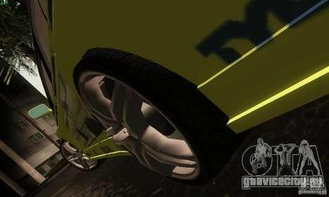 Mitsubishi Lancer Evolution 8 для GTA San Andreas вид изнутри