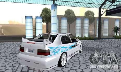 Volkswagen Jetta FnF для GTA San Andreas вид слева
