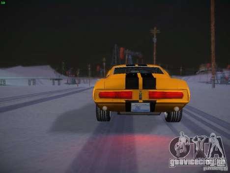 Shelby GT500 Eleanor для GTA San Andreas вид сбоку