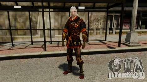 Геральт из Ривии v2 для GTA 4