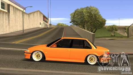 Honda Civic EF9 Sedan для GTA San Andreas вид слева