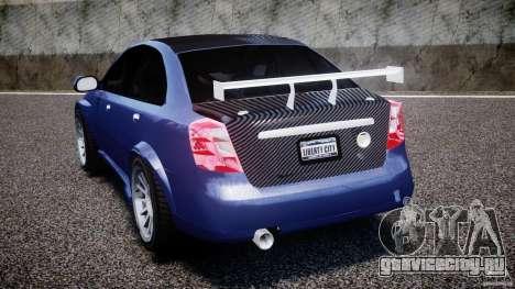 Chevrolet Lacetti WTCC Street Tun [Beta] для GTA 4 вид сзади слева