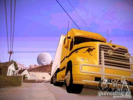Mack Vision для GTA San Andreas вид сзади