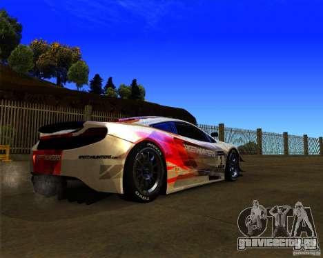 McLaren MP4 - SpeedHunters Edition для GTA San Andreas вид справа