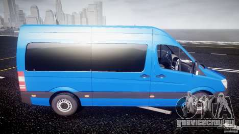 Mercedes-Benz ASM Sprinter Ambulance для GTA 4 вид сбоку