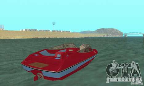 Speedboat для GTA San Andreas вид слева