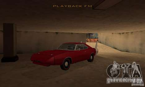 Dodge Charger Daytona 1969 для GTA San Andreas