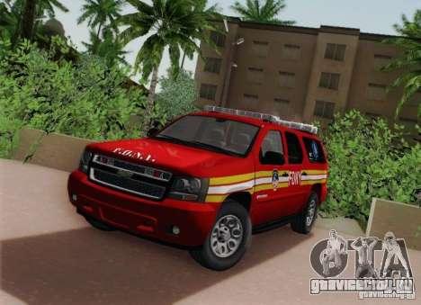 Chevrolet Suburban EMS Supervisor 862 для GTA San Andreas