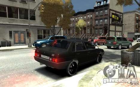 ВАЗ 21099 для GTA 4 вид справа