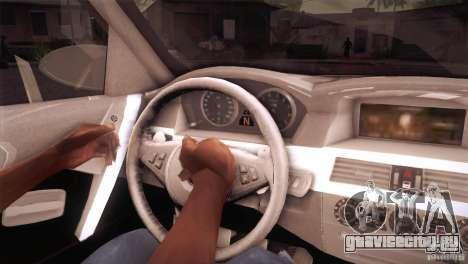 BMW M5 для GTA San Andreas вид сверху