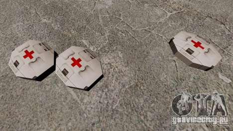 Новая кэш-бокс аптечка Halo для GTA 4 третий скриншот