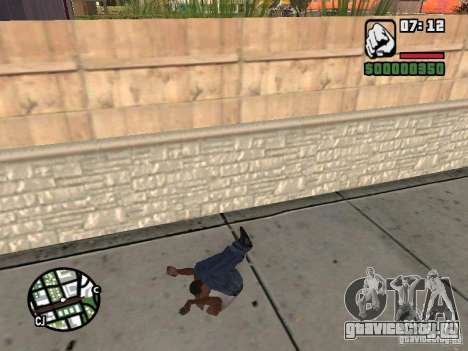 PARKoUR для GTA San Andreas девятый скриншот