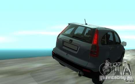 Honda CR-V для GTA San Andreas вид справа