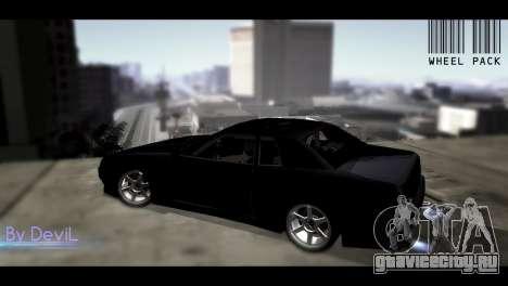 Пак JDM колес для GTA San Andreas