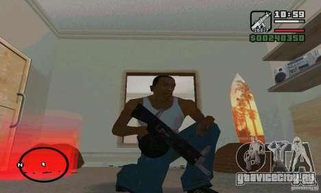 AA-12 дробовик для GTA San Andreas третий скриншот