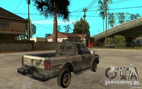 Rusty Mazda Pickup для GTA San Andreas вид справа