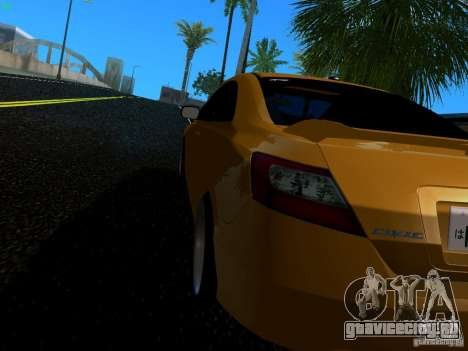 Honda Civic Si JDM для GTA San Andreas вид слева
